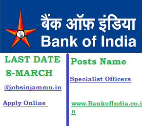 Bank of India (BOI) Specialist Officers Post Recruitment 2016| Apply Online @www.BankofIndia.co.in, Bank of India Logo, Bank logo, Bank of india jobs