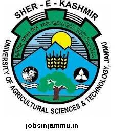 Skuast Junior Research Fellow (JRF) Recruitment 2016, Sher-e-Kashmir University of Agricultural Sciences & Technology (SKUAST), Jammu, jammu and kashmir (SKUAST)