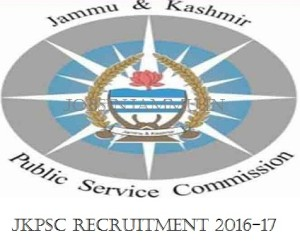 JKPSC Recruitment 2016-17 at jkpsc.nic.in Apply Online for 81 medical officer(MO) consultant posts, jkpsc jobs 2016, jkpsc 2017, medical officer consultant, Jammu and Kashmir Public Service Commission