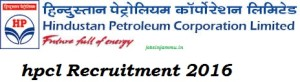 HPCL, India-Hindustan Petroleum Corporation Limited Recruitment 2016-17 Apply Online at www.hindustanpetroleum.com, HPCL jobs 2016, hpcl vacany 2016-2017, hpcl apply online