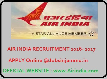 Air India (AIESL) Government Jobs 2016-2017 for Graduate Engineer Trainee Posts (382 Vacancies), Air india recruitment 2016-17, aiesl jobs